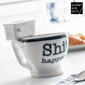 Taza Toilette Gadget and Gifts BigBuy Cooking - 1