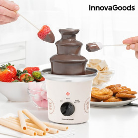 InnovaGoods Chocolate Fountain Sweet & Pop Times 70W White Steel  InnovaGoods - 1