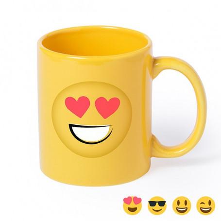 Emoji Tasse (370 ml) 145425 BigBuy Gadget - 1