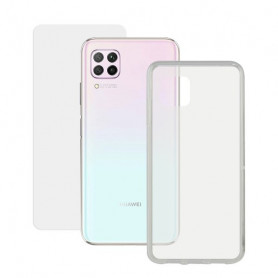 Tempered Glass Mobile Screen Protector + Mobile Case Huawei P40 Lite Contact Contact - 1