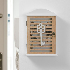 Closet Wooden Keys Organiser BigBuy Home - 1