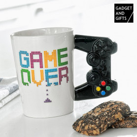 Taza Game Over Gadget and Gifts BigBuy Cooking - 1