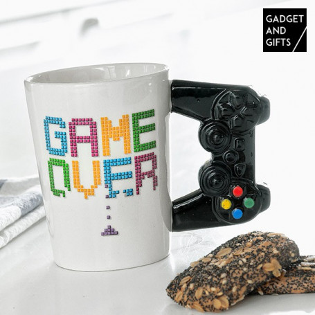 Tazza Game Over Gadget and Gifts BigBuy Cooking - 1