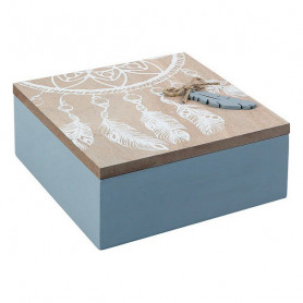 Декоративный шкафчик 114073 (15 x 6 x 15 cm) BigBuy Home - 1