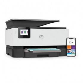 Multifunction Printer HP Officejet Pro 9010 AIO 22 ppm WIFI Fax White HP - 1