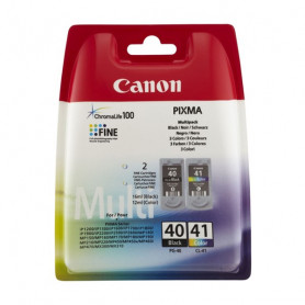 Original Ink Cartridge (pack of 2) Canon PG-40/CL41 Tricolour Black Canon - 1