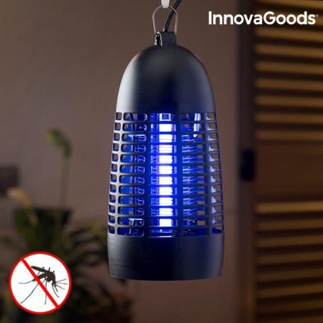 Lámpara Antimosquitos KL-1600 InnovaGoods 4W Negro InnovaGoods - 1