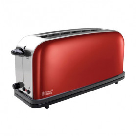 Toaster Russell Hobbs 21391-56 1R 1000W Stainless steel Red Russell Hobbs - 1
