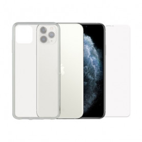 Tempered Glass Mobile Screen Protector + Mobile Case Iphone 11 Pro Max Contact Contact - 1