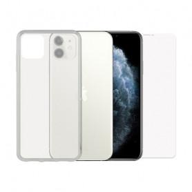 Bildschirmschutz aus Hartglas fürs Handy + Hülle für Handys Iphone 11 Pro Contact Contact - 1