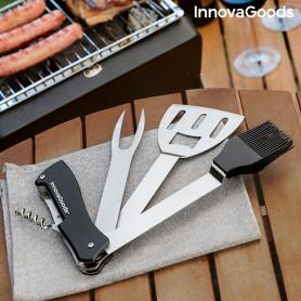 5 in 1 Grillwerkzeug-Set Bbkit InnovaGoods InnovaGoods - 1