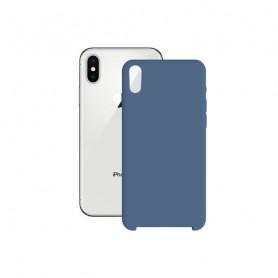 Custodia per Cellulare Iphone X/xs KSIX Soft Azzurro KSIX - 1