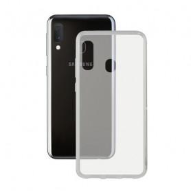 Housse pour Mobile avec Bord en TPU Samsung Galaxy A20s KSIX Flex KSIX - 1