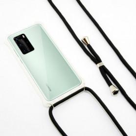 Custodia per Cellulare Huawei P40 Lite KSIX Trasparente KSIX - 1