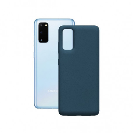 Mobile cover Samsung Galaxy S20+ KSIX Eco-Friendly Blue KSIX - 1