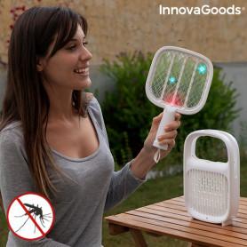 Lampada antizanzare e Racchetta Elettrica per Insetti Ricaricabile 2 in 1 Swateck InnovaGoods InnovaGoods - 1