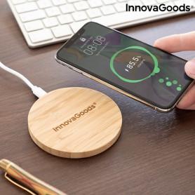 Cargador Inalámbrico de Bambú Wirboo InnovaGoods InnovaGoods - 1