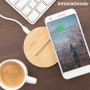 Bamboo Wireless Charger Wirboo InnovaGoods InnovaGoods - 9