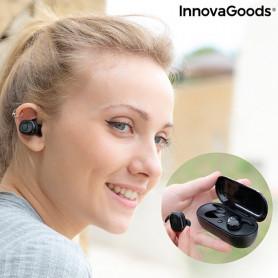 Auriculares Inalámbricos con Carga Magnética eBeats InnovaGoods InnovaGoods - 1
