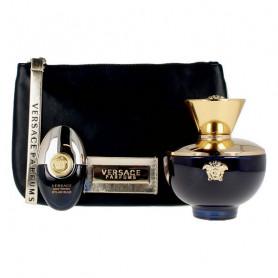 Women's Perfume Set Dylan Blue Versace EDP (3 pcs) Versace - 1