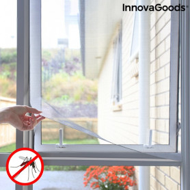 Cuttable Anti-mosquito Adhesive Window Screen White InnovaGoods InnovaGoods - 1