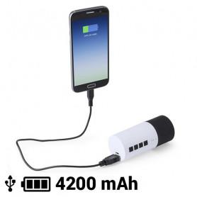 Bluetooth-динамик Power Bank 4200 mAh 3W 145161 BigBuy Tech - 1