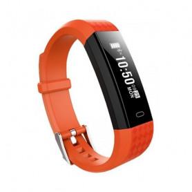 "Activity Bangle BRIGMTON BSPORT B1 0,87"" OLED Bluetooth 4.0 IP67 Orange BRIGMTON - 1"