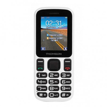 """Mobile telephone for older adults Thomson TLINK T12 1,77"""" Bluetooth VGA FM White Thomson - 1"""