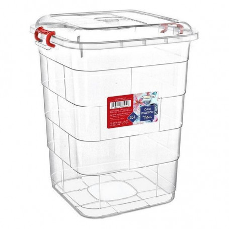 Storage Box with Lid Confortime Confortime - 1