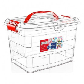 Storage Box with Lid Confortime 14 L Confortime - 1