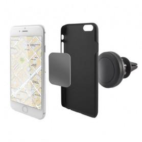 Magnetic Mobile Phone Holder for Car KSIX 360º Black KSIX - 1