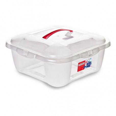 Aufbewahrungsbox mit Deckel BigBuy Home - 1