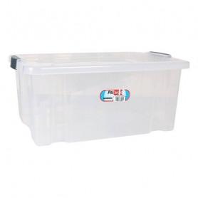 Storage Box with Lid Premier Transparent Premier - 1