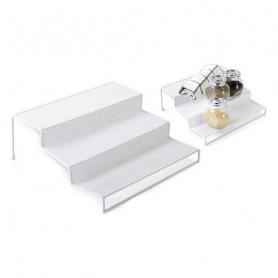 Contenitore per Sistemare Multiuso Confortime Metallo Bianco (26,5 x 25,5 x 10,5 cm) Confortime - 1