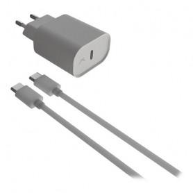 Зарядное для розетки + Кабель микро-USB C KSIX 5V-15V KSIX - 1