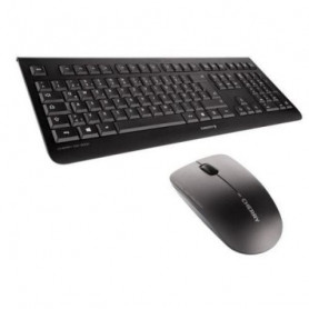English Keyboard and Wireless Mouse Cherry JD-0700GB-2 Black Cherry - 1
