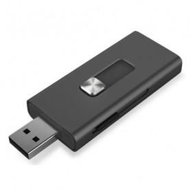 Card Reader KSIX Micro SD Black KSIX - 1