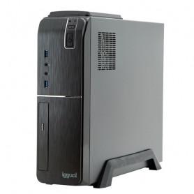 Desktop PC iggual PSIPC354 i7-9700 16 GB RAM 480 GB SSD W10 Black iggual - 1