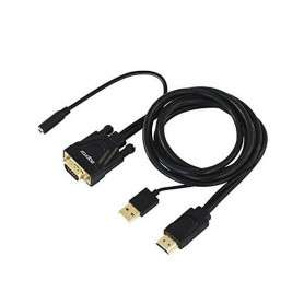 Adaptador HDMI a VGA approx! APPC22 3,5 mm USB 60 Hz approx! - 1