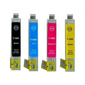 Compatible Ink Cartridge Inkoem T128 Inkoem - 1
