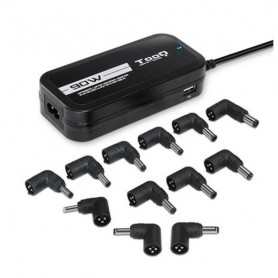 Laptop Charger TooQ TQLC-90BS02AT 90W Black TooQ - 1