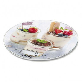 Báscula Digital de Cocina Basic Home 5 k LCD Basic Home - 1