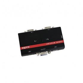 approx! APPKVMUSB2PV2 Commutator KVM USB/VGA approx! - 1