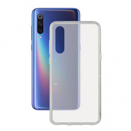Mobile cover Xiaomi Mi 9 Se KSIX Flex TPU Transparent KSIX - 1