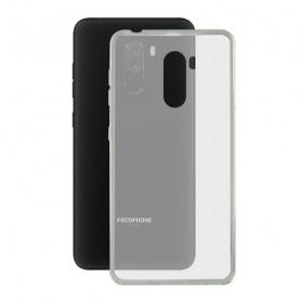 Mobile cover Pocophone F1 KSIX Flex TPU Transparent KSIX - 1