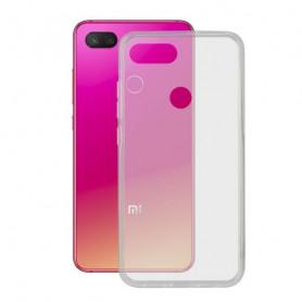 Mobile cover Xiaomi Mi 8 Lite KSIX Flex TPU Transparent KSIX - 1