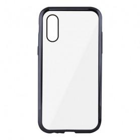 Custodia per Cellulare Iphone Xs Max KSIX Flex Metal Trasparente KSIX - 1