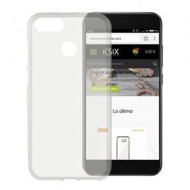 Custodia per Cellulare Xiaomi Mi A1 KSIX Flex TPU Trasparente KSIX - 1