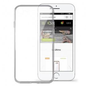Handyhülle Iphone 8 KSIX Flex Ultrafina Durchsichtig KSIX - 1