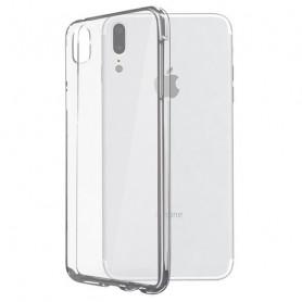 Custodia per Cellulare Iphone X KSIX Flex Trasparente KSIX - 1